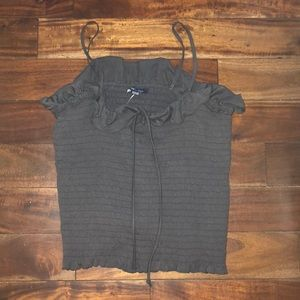 american eagle ribbed top NEVER WORN